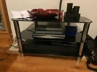 Black gloss tv stand £30 ONO