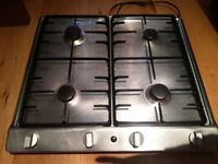 ATAG Stainless Steel Gas Hob 4 burners good condition and working order with instruction booklet