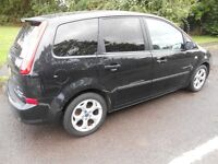 FORD C-MAX 1.8 TDCi ZETEC 2008 TWO OWNERS ONLY 100K FULL SERVICE HISTORY 5 SERVICE STAMPS NEW MOT