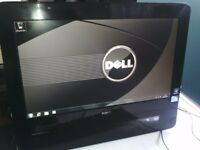 "DELL INSPIRON ONE 19A W01B 19"" ALL IN ONE PC CELERON 450 CPU 2.2 GHZ 3GB RAM 320GB SATA HD WINDOWS 7"