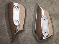 Triumph Thunderbird 900 Chrome Air Box Cover / Side Panels