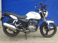 2016 ZONTES PANTHER 125CC NAKED SPORTS 125 , VERY GOOD CONDITION , LOW MILES AND HPI CLEAR