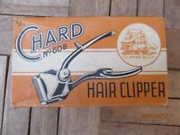 Vintage Chard No 60B, size 0000 manual hair clipper