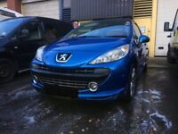 breaking parts peugeot 207 sport 1.6 petrol turbo 5fx engine gearbox bumper headlights leather in