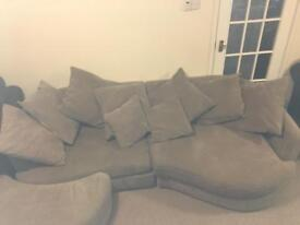 two piece sectional sofa with chaise
