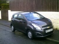 2014 CHEVROLET SPARK 1.0 LS, ONLY 9000 MILES, 5 DOOR.
