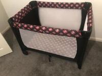 Minnie Mouse travel cot + free delivery