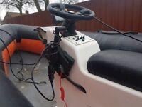 Fast fishing diving boat humber 5meter