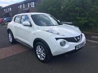2013 Nissan Juke acenta 1.6 ✅ low milage ✅ 12 months MOT . White