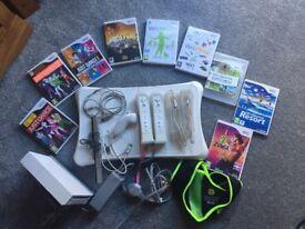 Wii bundle & games