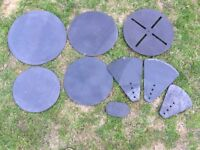 Set of Drum Silencers/Practise Pads x 8