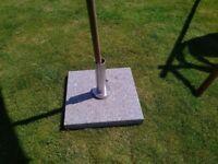 50kg Grey Granite Base for parasols