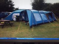 Vango Amazon 600. 6 person family tent