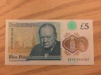 Five Pound Note (AK49)