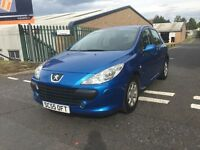 "2006 (55) PEUGEOT 307 5DR 1.6 PETROL ""11 MONTHS MOT + DRIVES VERY GOOD + MUST BE SEEN AND DRIVEN"""