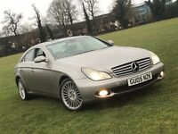 2005 MERCEDES BENZ CLS 500 5.0 7G COUPE PETROL AUTOMATIC LPG GREAT DRIVE TOP SPEC NOT E S 3 5 SERIES