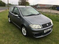 04 REG FIAT PUNTO 1.4 16V SPORTING 3DR-12 MONTHS MOT-6 SPEED-GREAT LOOKING PUNTO DRIVES WELL