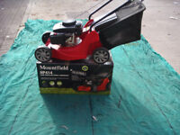 MOUNTFIELD SELF PROP LAWNMOWER MODEL SP414 ASSEMBLED READY FOR USE OR BOXED FULL WARRANTY