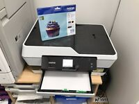 For sale-Brother MFC J6520DW A3/A4 colour printer,scanner,copier with inks. As new,barely used