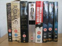 jason statham coolection 4 dvds and transporter 1-2 box set
