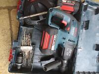 Bosch gbh36 vf-li hammer e chisel drill
