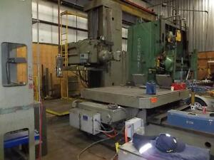 TOS -5'' BORING MACHINE(USED)