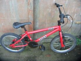 trax bmx bike 20in wheels