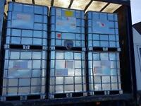 1000 Litre Galvanised IBC Storage tank