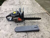 McCullough chainsaw like new