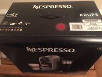 NEW Nespresso KRUPS Coffee Machine