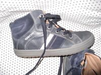 Geox boys leather boots size 1.5