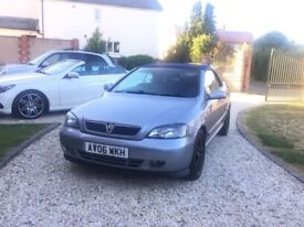Vauxhall Astra 1.8 Bertone Convertible 2006, 12 months MOT, Low Mileage