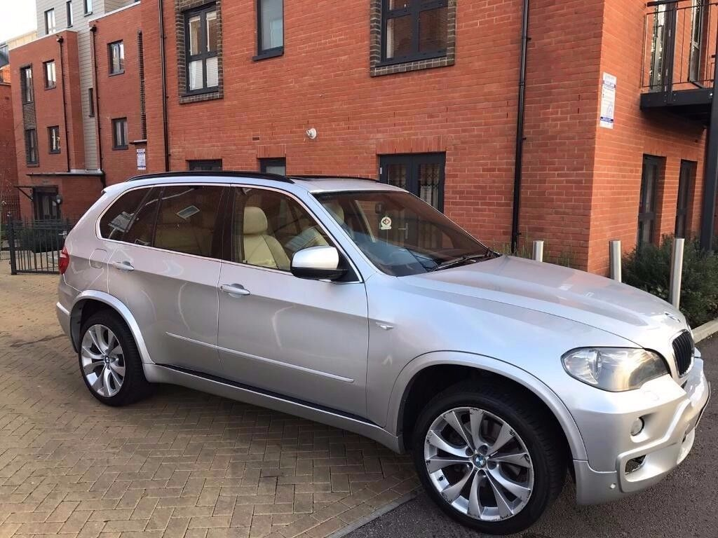 BMW X5 2009 M SPORT ** DIESEL **PANORAMIC ROOF **5 Seater **NAVIGATION ** 1 OWNER FROM NEW ** 2 KEYS