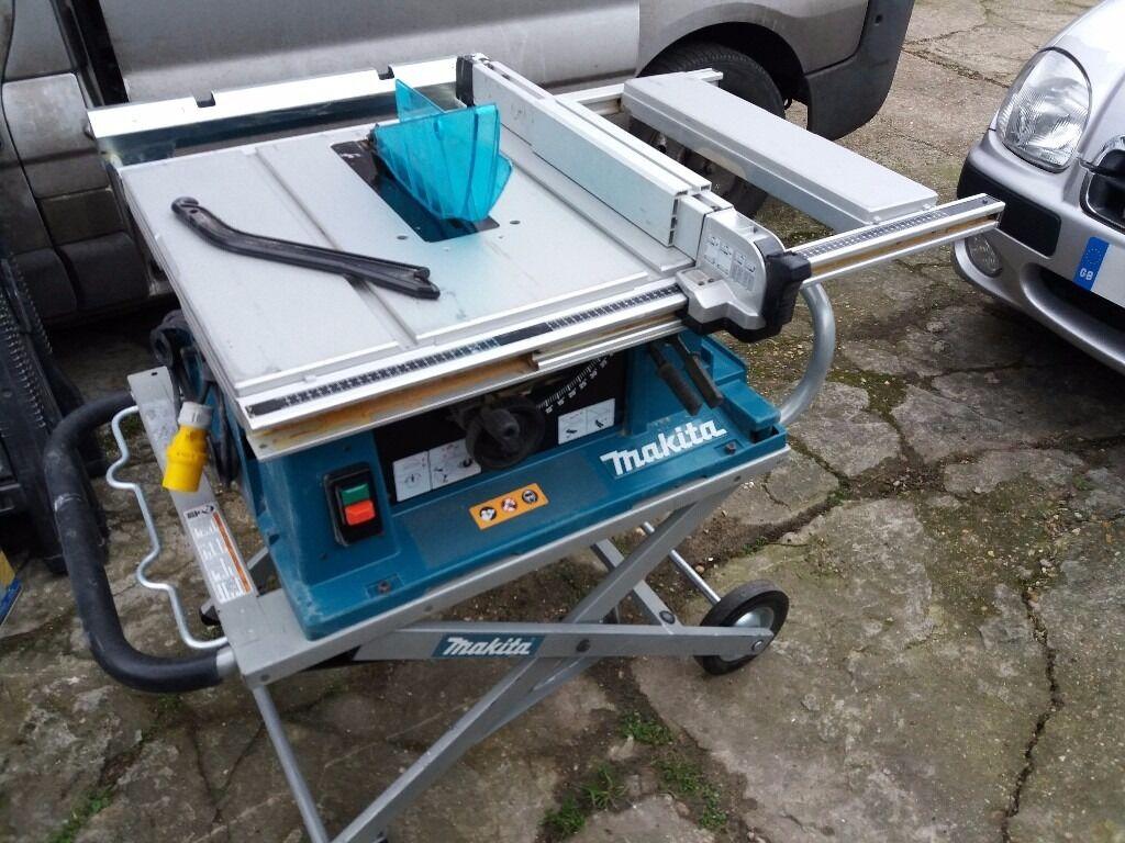Makita 2704 Table Saw 110v Transformer