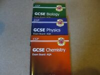 GCSE science revision textbooks