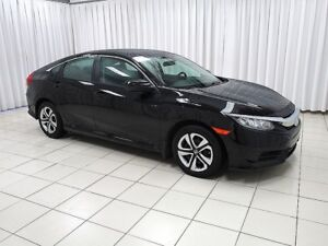 2018 Honda Civic LX! LOW KMs!! Heated Seats! A/C, Cruise, Power