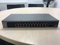Netgear M4100-D12G 12x1Gb Switch + gbic