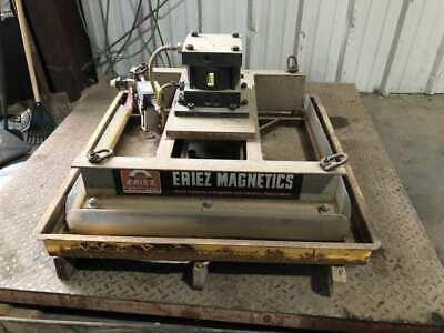 Eriez 33x33 Pneumatic Permanent Magnetic Lift Palletizer Depalletizer 250psi