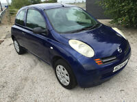 2004 54 plate nissan micra 1.2 cc long MOT till 2017 ideal first car cheap insurance