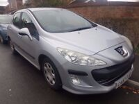 2008 Peugeot 308 1.6 S DT Genuine 57k £30 a Year Tax