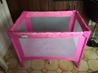 Little shield Travel Cot - perfect condition