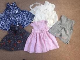Baby girl summer dresses and skirts 3-6 moths