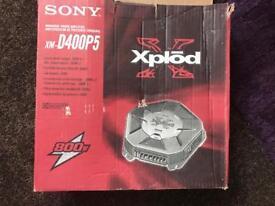 Sony 2 channel amplifier - 800 watts