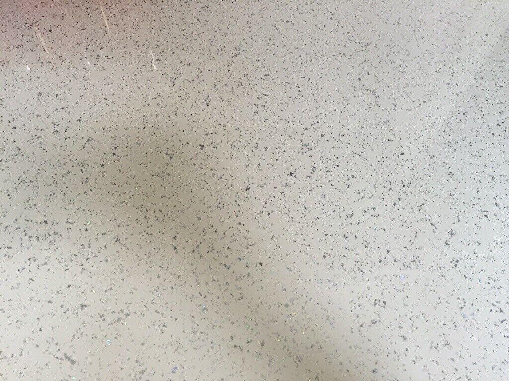 Kitchen worktop- Strasse Noir White sparkle | in Basford ...