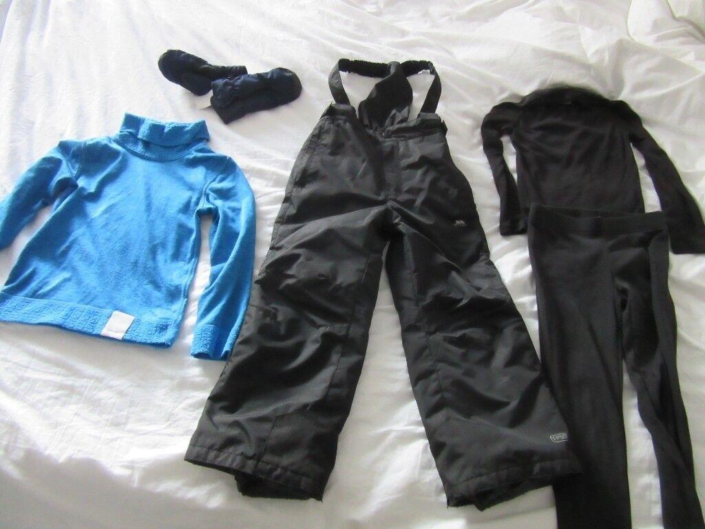 Ski Salopettes/Ski Bundle - age 5/6