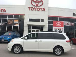 2014 Toyota Sienna LIMITED ALL WHEEL DRIVE