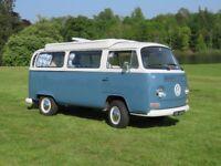 VW Camper T2 Early Bay 1971 - MOT 12 months - 1584 cc petrol engine .