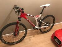 Specialized s-works fsr m4 full sus xc freeride mountain road bike bicycle
