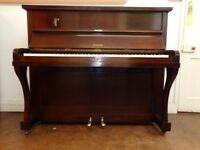 Berry small upright piano, reconditioned, with 3-year guarantee