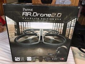 REDUCED Brand New Unused Competition Prize Parrot A R Drone 2.0 Elite edition Quadricopter (Sand)